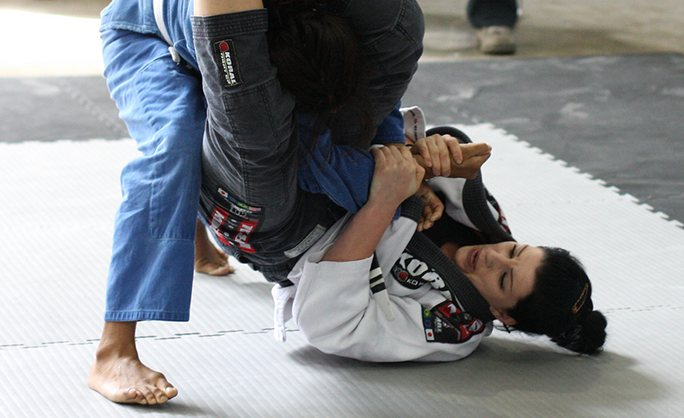 Brazilian Jiu Jitsu Training Gym